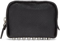 Alexander Wang Black Leather Fumo Pouch