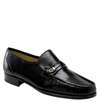 Florsheim 'Como Imperial' Roll Front Moccasin Black