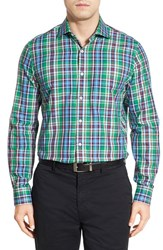 Men's Bobby Jones 'Terminus' Regular Fit Long Sleeve Plaid Sport Shirt