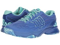 Wilson Kaos Amparo Blue Surf The Web Aruba Women's Tennis Shoes