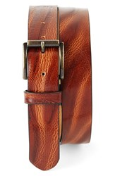 Men's Big And Tall Tommy Bahama Leather Belt Tan
