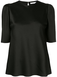 Rachel Gilbert Dariela Structured Top Black