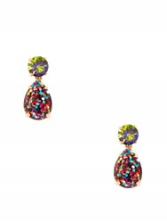 Kate Spade Shine On Glitter Double Drop Earrings