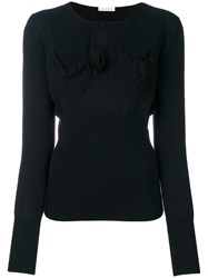J.W.Anderson Chest Pocket Sweater Merino M Black