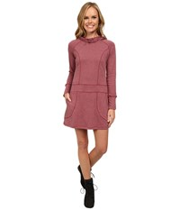 Exofficio Javana Hoodie Dress Tango Women's Dress Pink