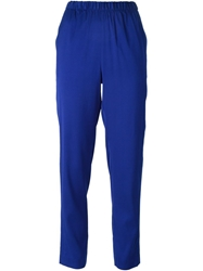 T By Alexander Wang Loose Fit Trousers Blue