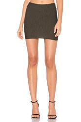 Riller And Fount Casey Mini Skirt Army