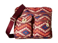 Baggallini Gold Sydney Aztec Berry Handbags Pink