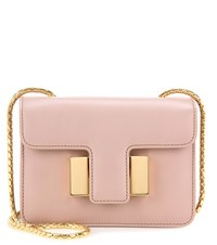 Tom Ford Sienna Small Leather Shoulder Bag Beige