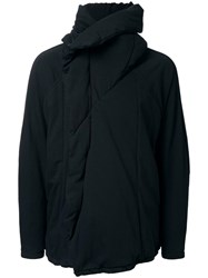 Julius Dislocated Zipper Jacket Black