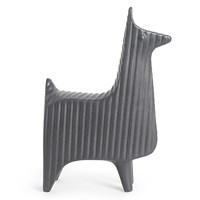 Jonathan Adler Menagerie Llama Ornament Midnight