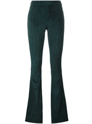 Drome Flared Trousers Green