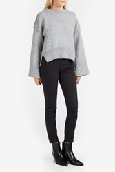 Elizabeth And James Harris Aline Jumper Grey