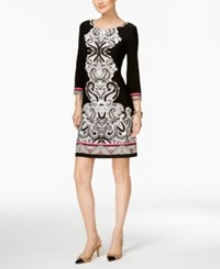 Inc International Concepts Printed Sheath Dress Only At Macy's Leaping Paisley
