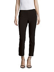Saks Fifth Avenue Solid Cropped Pull On Pants Navy