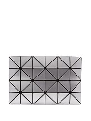 Issey Miyake Lucent Two Tone Flat Pouch Bag Silver