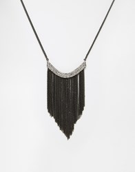 Coast Statement Tassel Necklace Gold