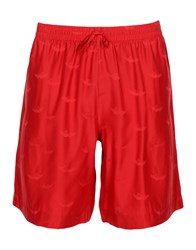 La Perla Beach Shorts And Pants Red