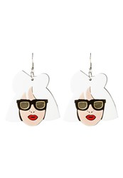 Sweet Deluxe Earrings Weiss White
