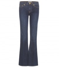 Tory Burch Skinny Flare Jeans Blue
