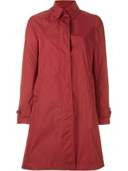 Aspesi 'Appuntamento' Raincoat Red
