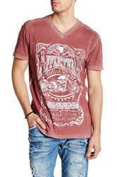 Affliction Sour Short Sleeve Tee Red