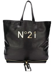 N 21 No21 No21 N04119npo011 Nero Furs And Skins Leather Black