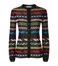 Mary Katrantzou Daz Stripe Cardigan Female Multi