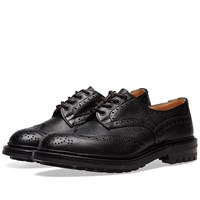 Tricker's Commando Sole Ilkley Brogue Black