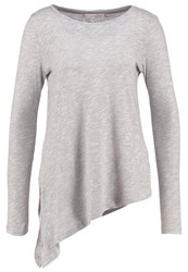 Tom Tailor Denim Long Sleeved Top Cement Grey Melange