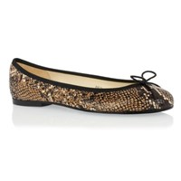 French Sole Henrietta Snake Leather