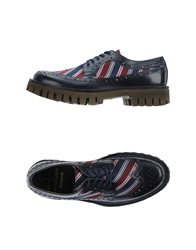 Barracuda Lace Up Shoes Dark Blue