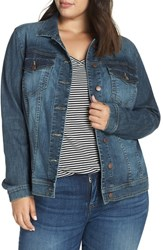 Kut From The Kloth Plus Size Helena Jean Jacket Liberal