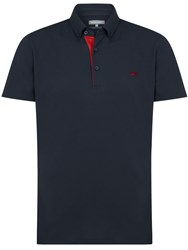 Wolsey Self Collar Pique Polo Navy