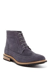 Joseph Abboud Lewis Longwing Boot Gray