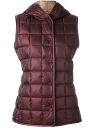 Fay Classic Padded Gilet Red