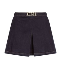 Love Moschino Denim Skort Female Blue