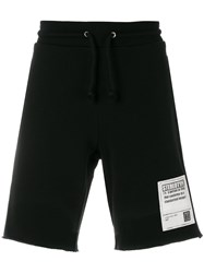 Maison Martin Margiela Logo Patch Shorts Black