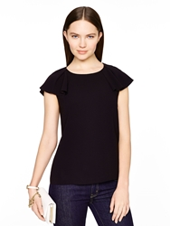 Kate Spade Madison Ave. Collection Aria Top Black