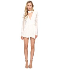 Style Stalker Venice Romper Blanc Women's Jumpsuit And Rompers One Piece White
