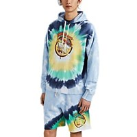 Ovadia And Sons Not Fade Away Tie Dyed Oversized Hoodie Multi