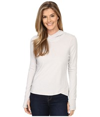 Spyder Close Hoodie Top Cirrus Women's Long Sleeve Pullover Blue