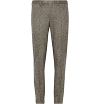 Billy Reid Grey Dalton Slim Fit Wool And Cashmere Blend Tweed Suit Trousers Gray