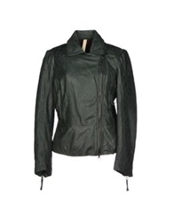 Le Sentier Jackets Dark Green