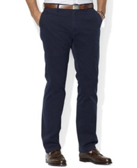 Polo Ralph Lauren Core Pants Classic Fit Flat Front Chino Pants Aviator Navy