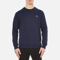 Lacoste Men's Crew Neck Sweatshirt Navy