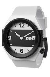 Neff Stripe Watch 42Mm White Black