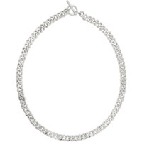 Pearls Before Swine Silver Small Sliced Link Necklace