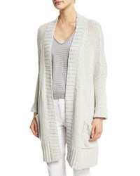 Zadig And Voltaire Pixy Open Front Cashmere Cardigan Beige Neige