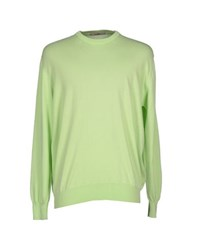 Della Ciana Knitwear Jumpers Men Light Green